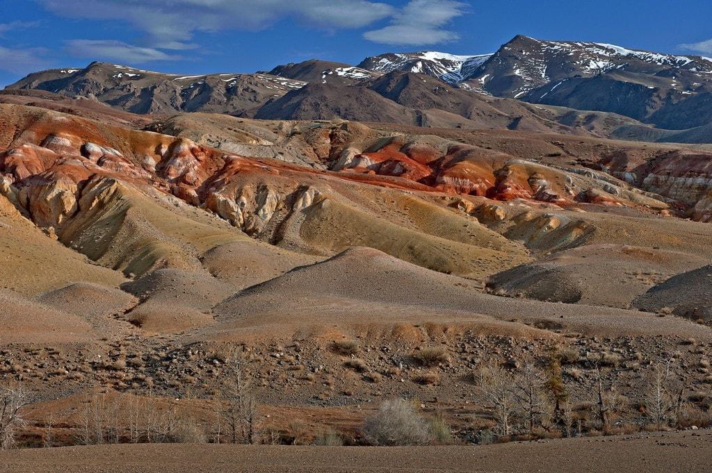 Марсианские пейзажи Чаган-Узун