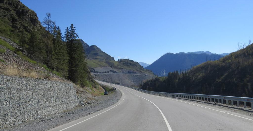 Дорога вдоль Урсула